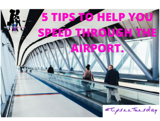 5 TIPS TO HELP YOU SPEED THROUGH THE AIRPORT